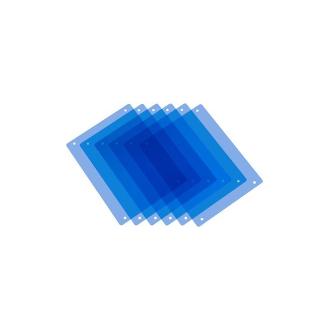 Pag 9980 PAG Full CT Blue Filters x 6