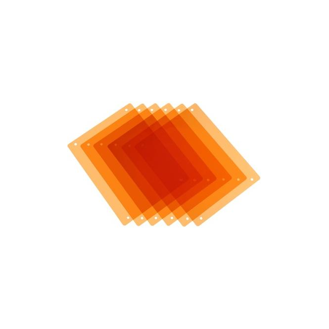 Pag 9981 PAG Half CT Orange Filters x 6