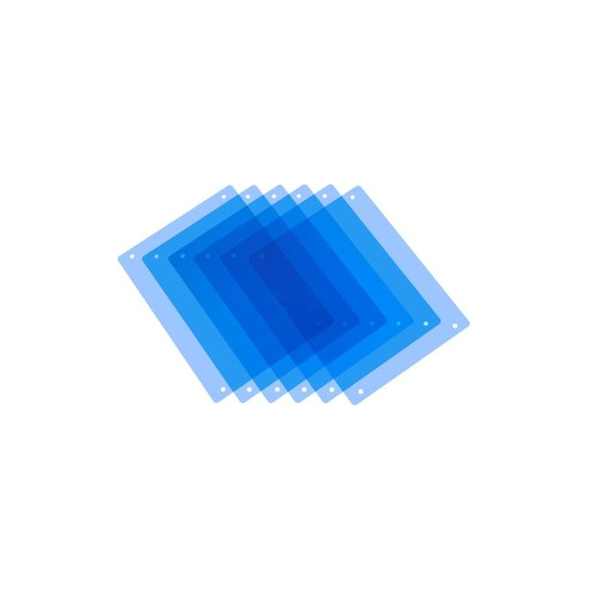 Pag 9982 PAG Half CT Blue Filters x 6