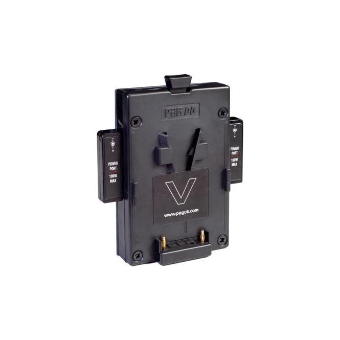 Pag 9522/78V PAG V-Mount for Orbitor Back Plate, 2 x PP90 outputs