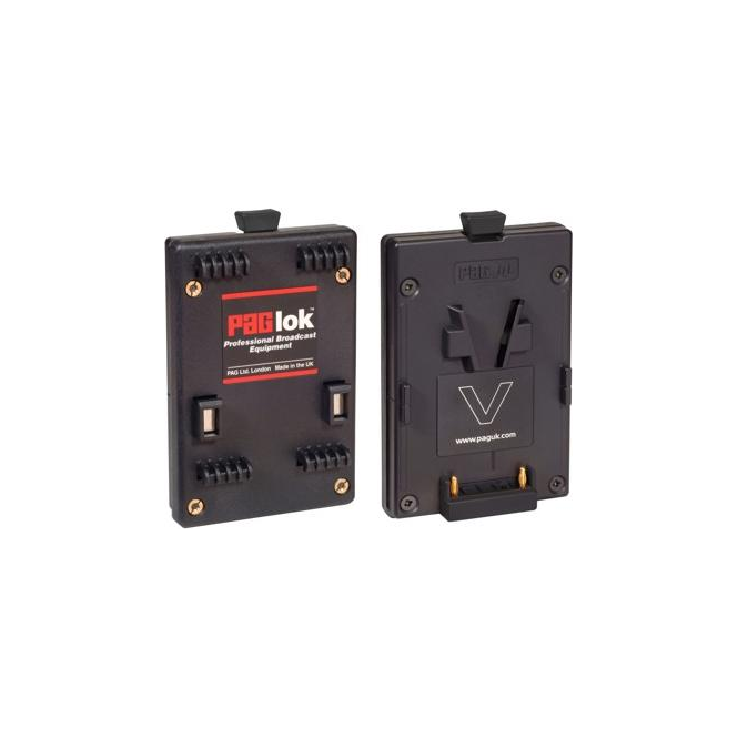 Pag 9512 Adapts PAGlok Connector for V-Mount batteries