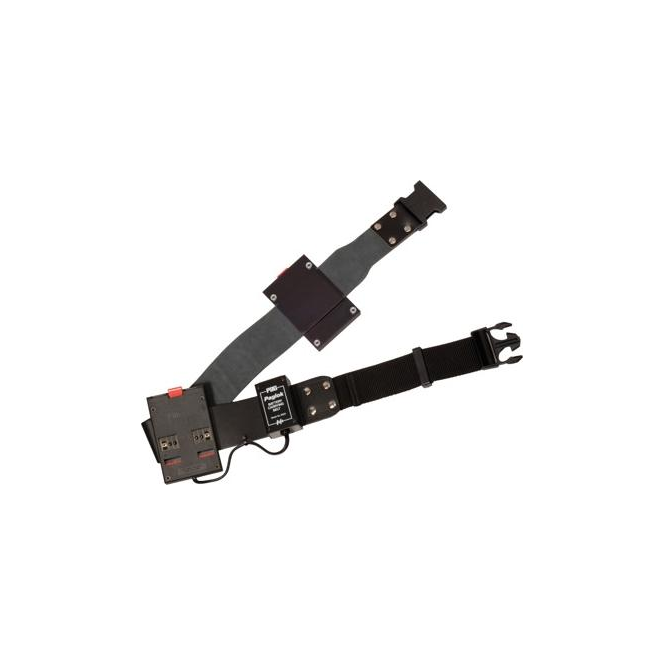 Pag 9523 Belt-Mounted PAGlok Connectors (XLR-4 output)