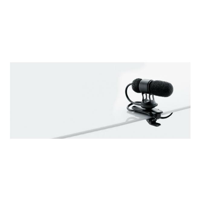 DPA 4080-BM Miniature Cardioid Microphone, Lavalier, Black