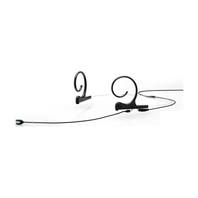 DPA FIOB00-2 d:fine Dual-Ear Omni Headset Mic, Black, 110 mm Boom, MicroDot