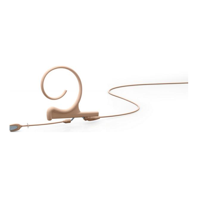 DPA FIOF00 d:fine Single-Ear Omni Headset Mic, Beige, 110 mm Boom, MicroDot