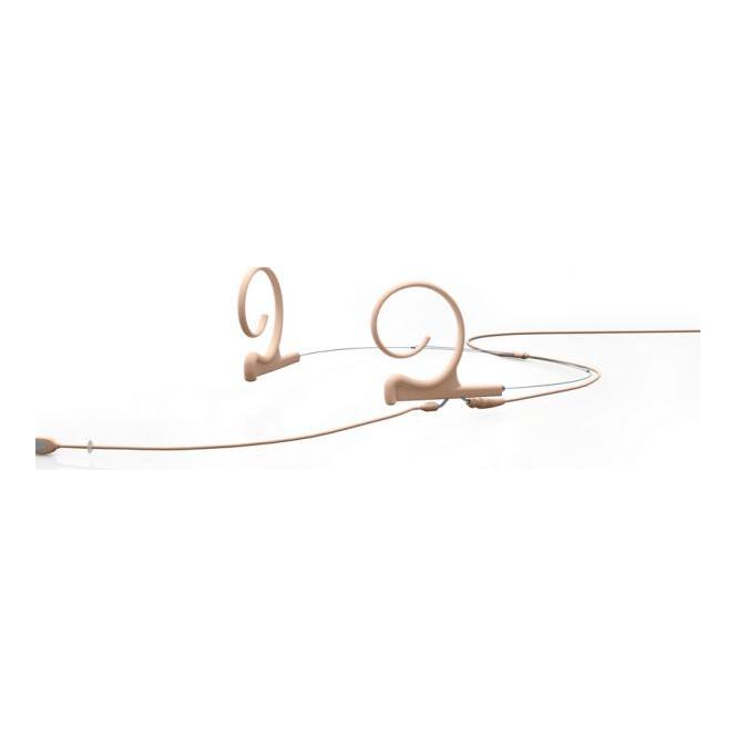 DPA FIDF00-2 d:fine Dual-Ear Directional Headset Mic, Beige, 120 mm Boom, MicroDot