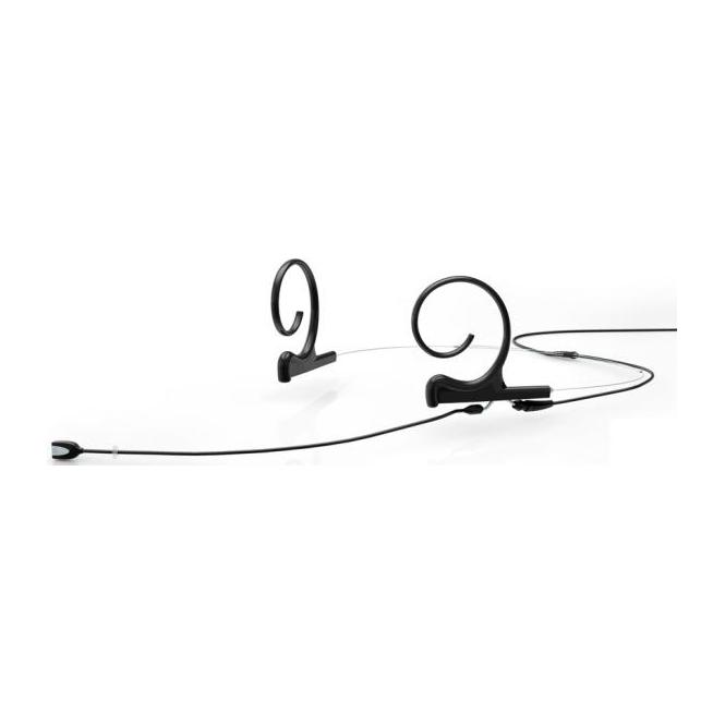 DPA FIDB00-2 d:fine Dual-Ear Directional Headset Mic, Black, 120 mm Boom, MicroDot