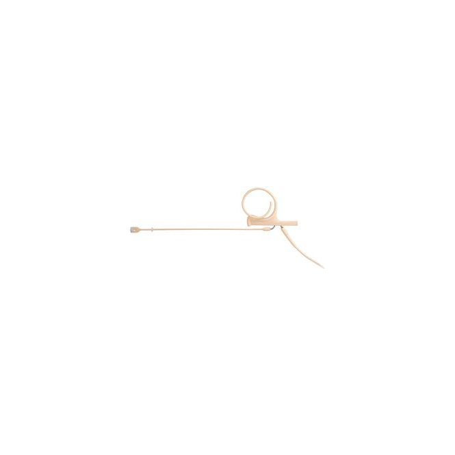 DPA FIDF00 d:fine Single-Ear Directional Headset Mic, Beige, 120 mm Boom, MicroDot