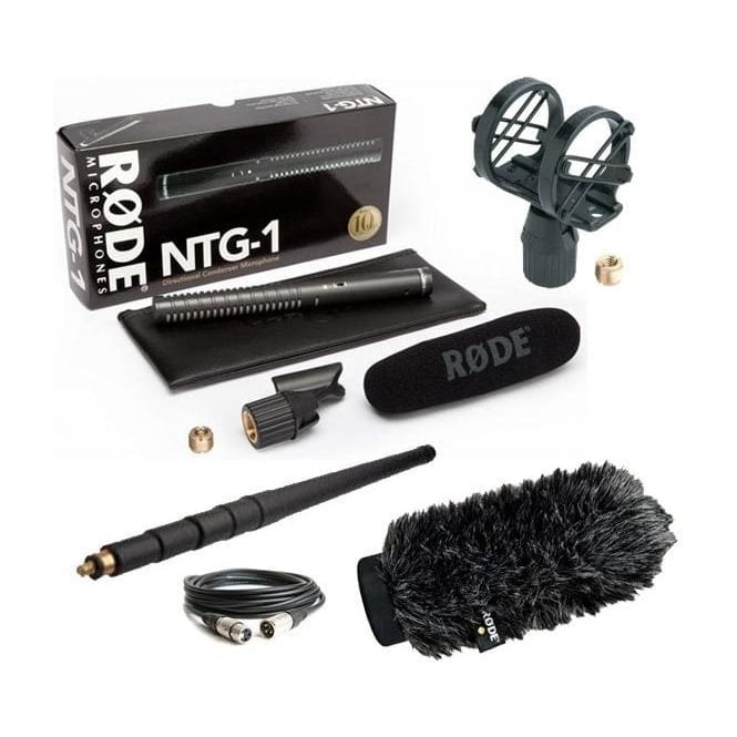 Rode NTG1 Microphone Package B