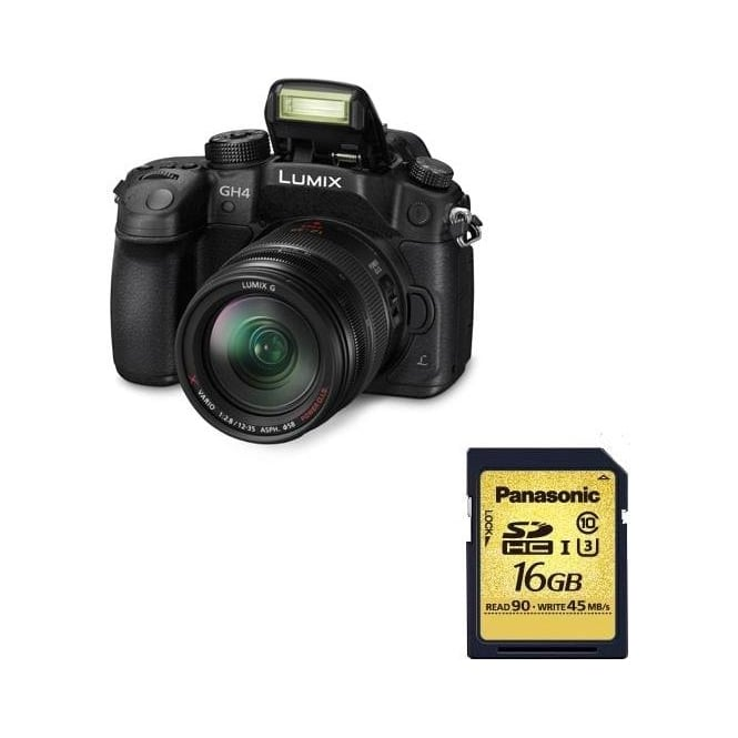 Panasonic DMC GH4 Lumix G Compact Camera DSLM Package a