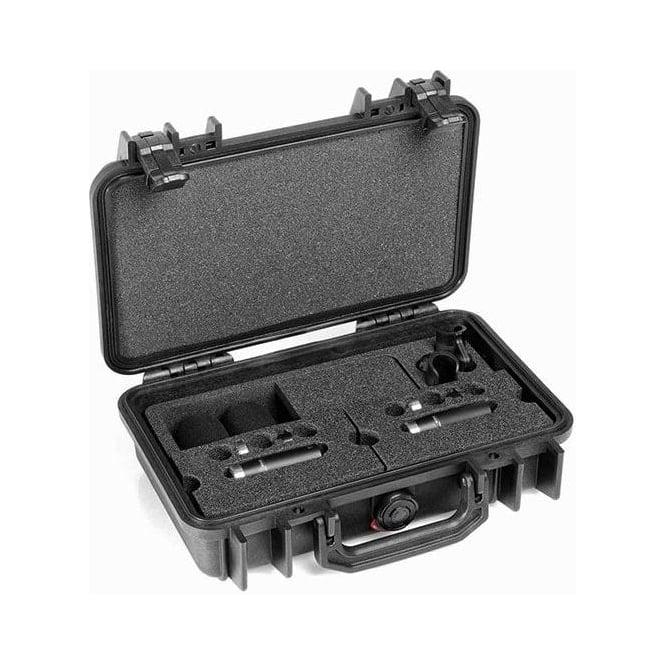DPA ST4006C, ST4006, C ST4006-C, ST4006/C  Stereo Pair w. 2 x 4006C, Clips, Windscreens in Peli Case