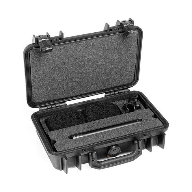 DPA ST4015A, ST4015 A, ST4015-A,  ST4015/A Stereo Pair w. 2 x 4015A, Clips, Windscreens in Peli Case