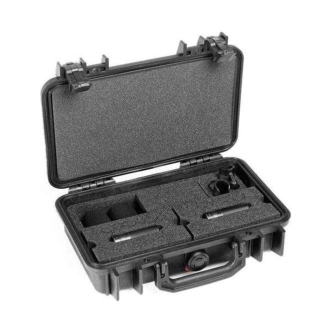 DPA ST4011C, ST4011 C, ST4011-C, ST4011/C Stereo Pair w. 2 x 4011C, Clips, Windscreens in Peli Case