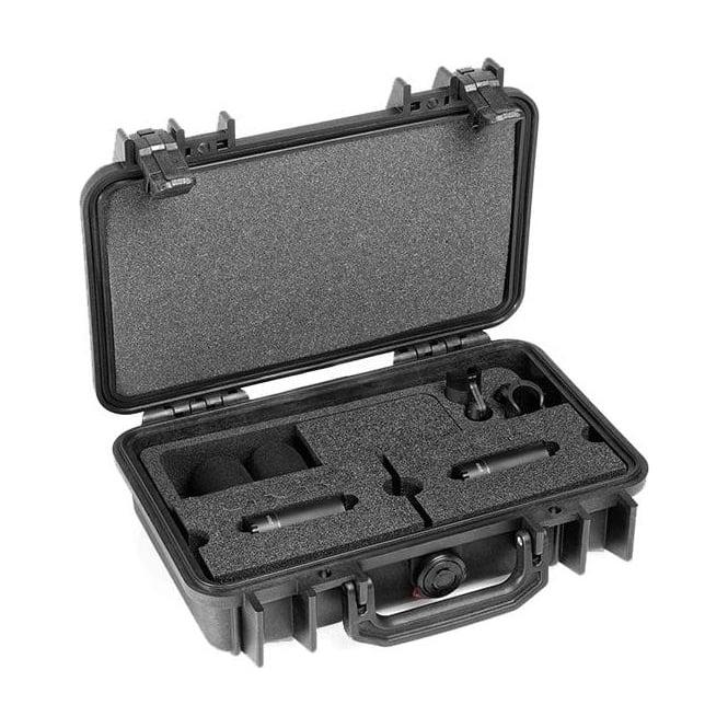 DPA ST2006C, ST2006 C, ST2006-C, ST2006/C Stereo Pair w. 2 x 2006C, Clips, Windscreens in Peli Case