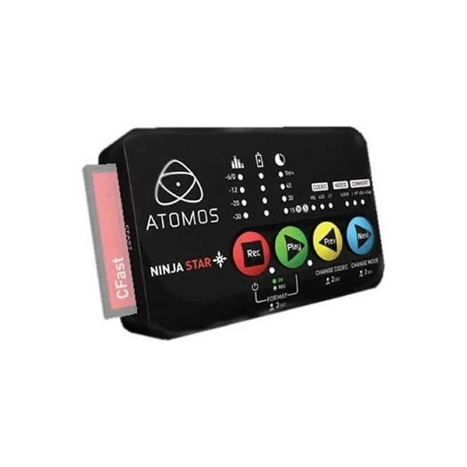 Atomos AO-ATOMNJS001 Ninja star 10-bit HDMI ProRes Recorder