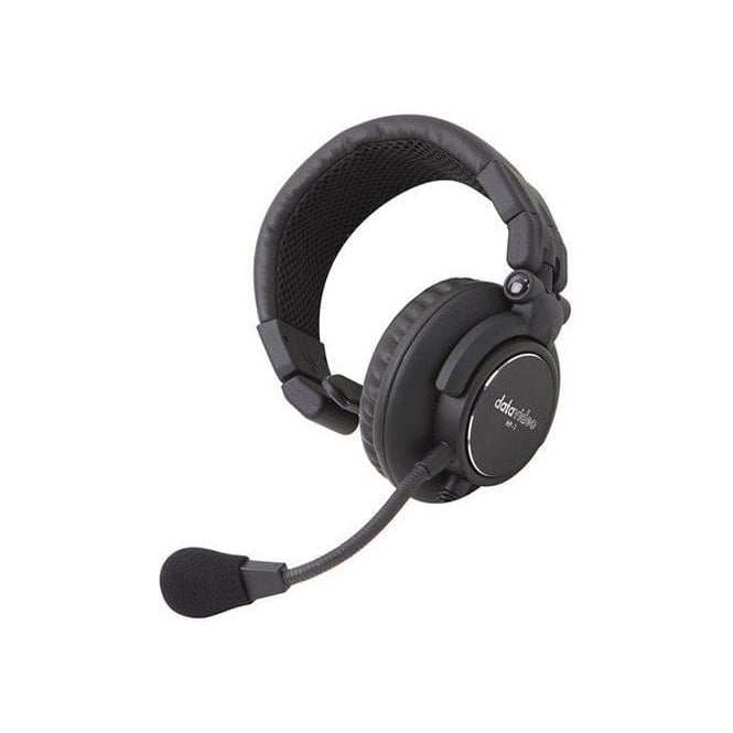 Datavideo DATA-HP1 Upgraded One Ear Headset for ITC-100SL