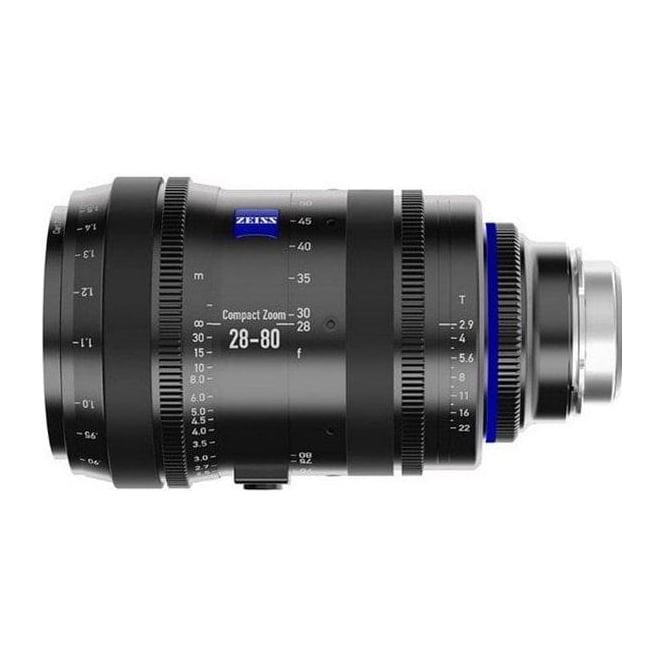 Carl Zeiss 2008-989 CZ lens CZ.2 28-80/T2.9 EF - metric
