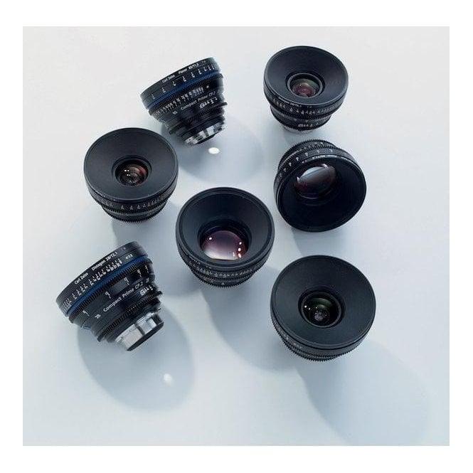 Carl Zeiss 1848-232 7 Lens Custom Set, Advanced