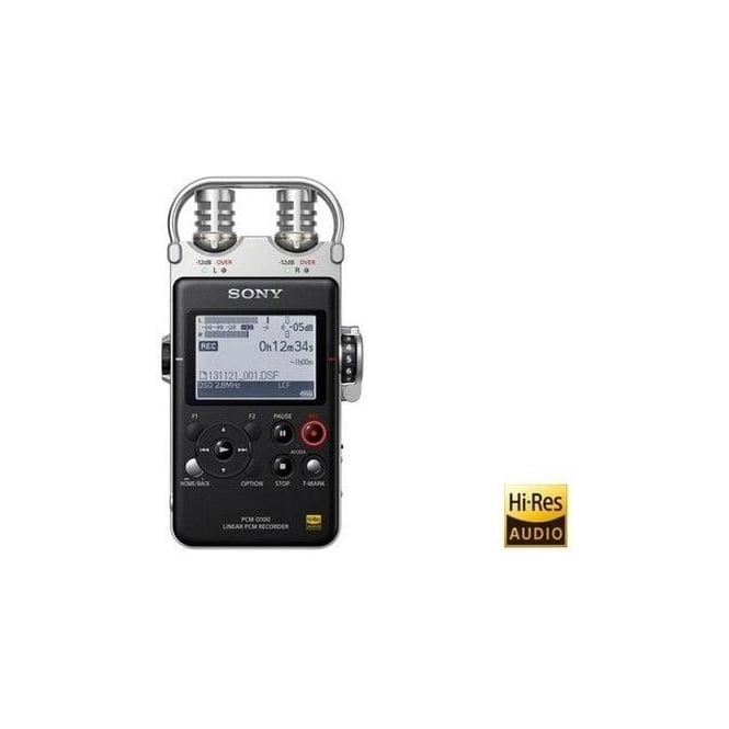 Sony PCM-D100 High Resolution Portable Audio-Recorder