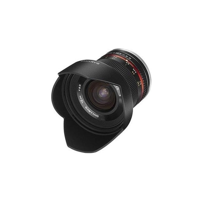 Samyang 7770 12mm F2.0 Lens SONY E Black