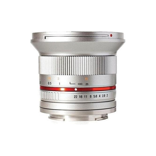 Samyang 7775 12mm F2.0 FUJI X Silver
