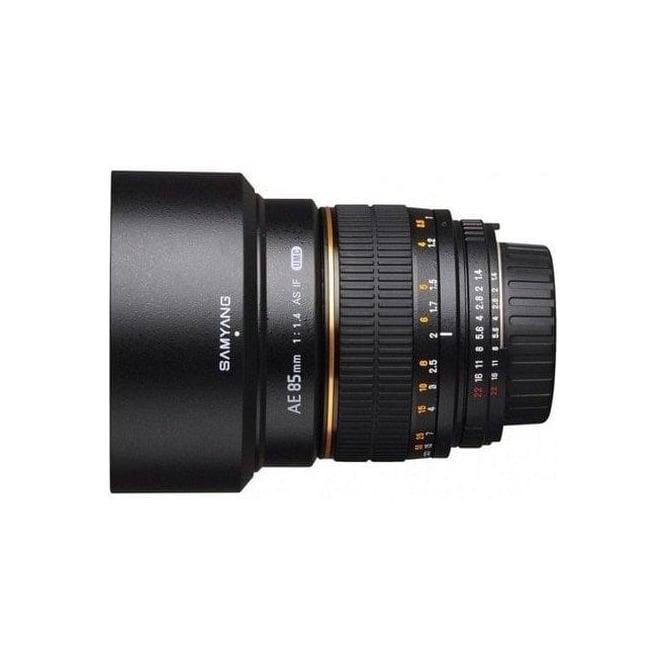 Samyang 7655 85mm F1.4 Lens NIKON-AE