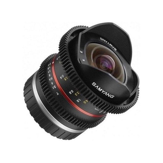 Samyang 7696 8mm T3.1 VDSLR Lens FUJI X