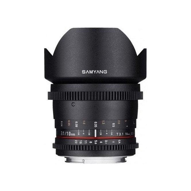 Samyang 7786 10mm T3.1 VDSLR Lens CANON M