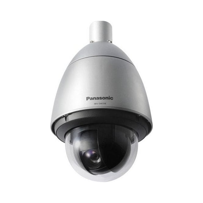 Panasonic PAN-WVSW598E Full HD - Vandal resistant IP PTZ Dome