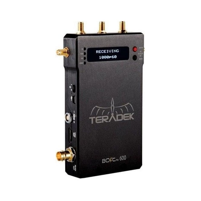 Teradek TER-BOLT-962 Bolt Pro 600 RX Uncompressed Wireless HD Video Receiver - 600ft