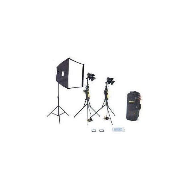 Dedolight KDS21B 1 Soft head 2 Hard heads Basic Starter Kit