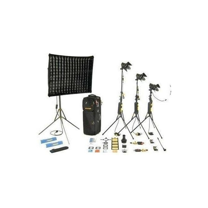 Dedolight KDS31M 1 Soft head 3 Hard heads Master Kit