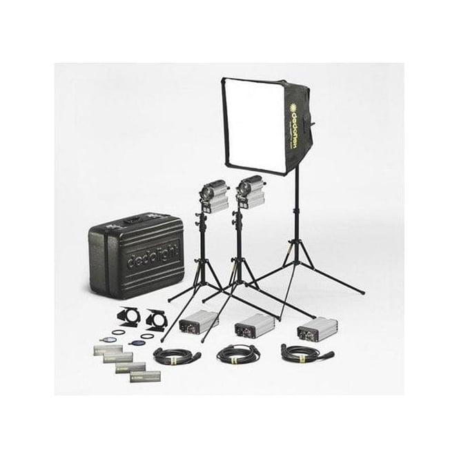 Dedolight KUK200DR-3 200D 2 x Hard 1 x Soft  HARD CASE KIT