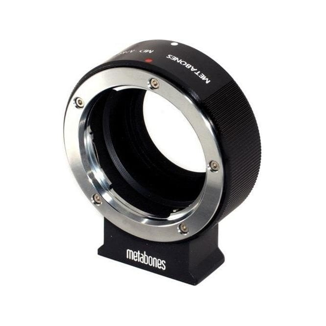 Metabones MB_MD-m43-BM1 Minolta MD to Micro FourThird adapter Black Matt