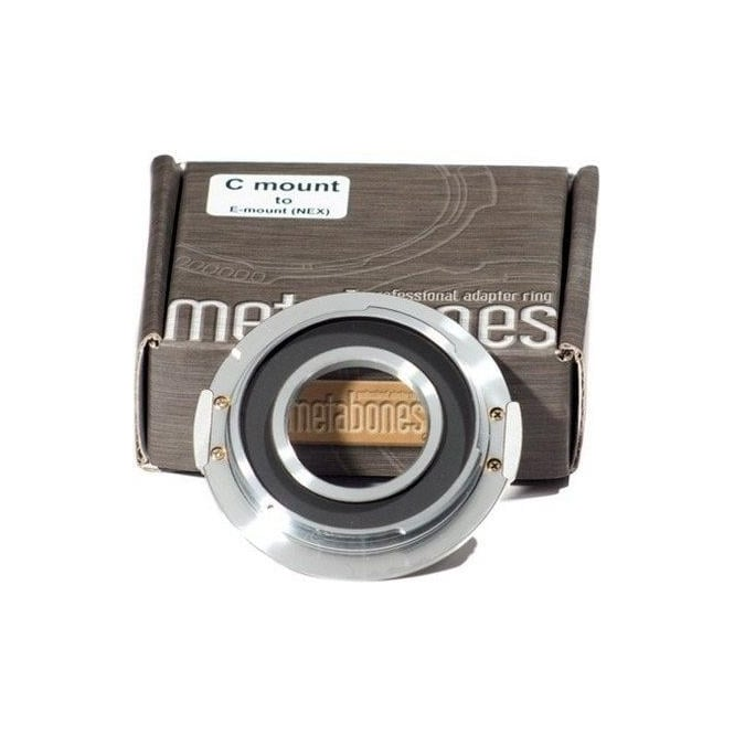 Metabones MB_C-E-CH1 C-mount to E-mount/NEX Chrome