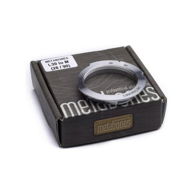 Metabones MB_L39-M-28/90 L39 to Leica M with 6-bit 28/90