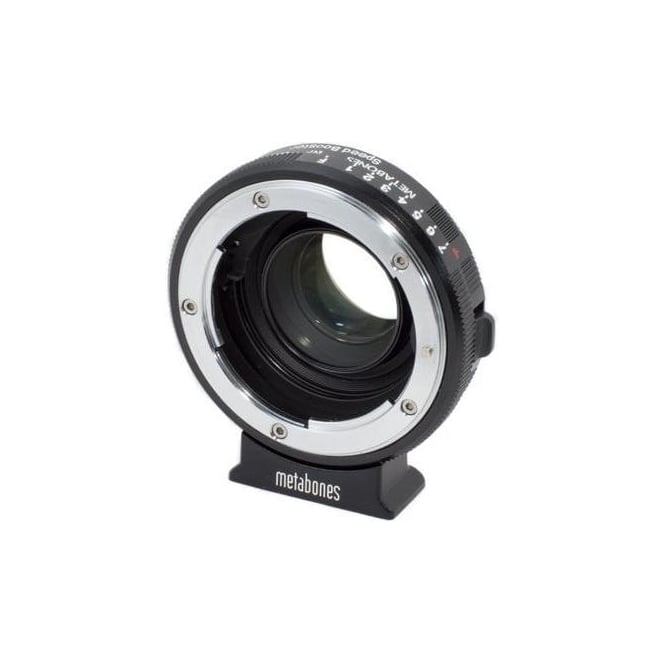 Metabones MB_SPNFG-BMPCC-BM1 Nikon G to BMPCC Speed Booster Black Matt