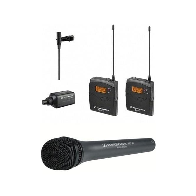 Sennheiser Ew 100-Eng G3-Gb Eng Set portable wireless system Package A