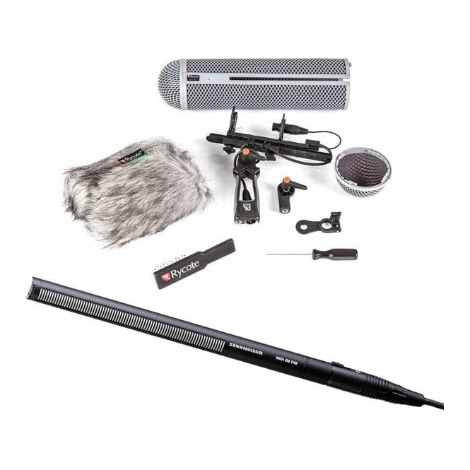 Sennheiser Mkh 416-P48U3 Short Tube Line Shotgun Microphone Package A