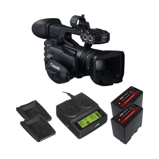 Canon XF205 Compact HD Camcorder package b