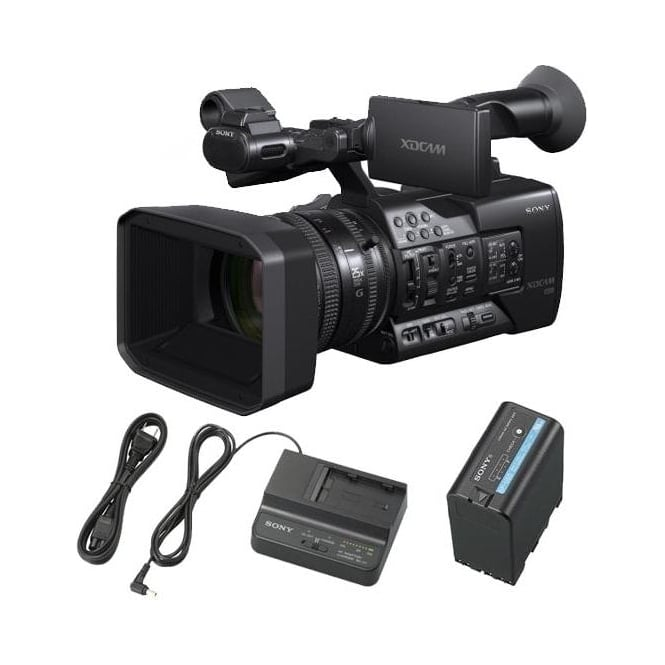 Sony PXW-X180 Camcorder with 25x Zoom Lens package b