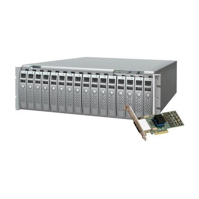 Sonnet SON-RX16S6-96TB Fusion RX1600 RAID inc 6Gb PCIe RAID Controller Card 96TB