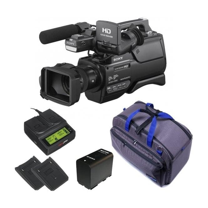 Sony HXR-MC2500E HD / SD NXCAM AVCHD Camcorder package c