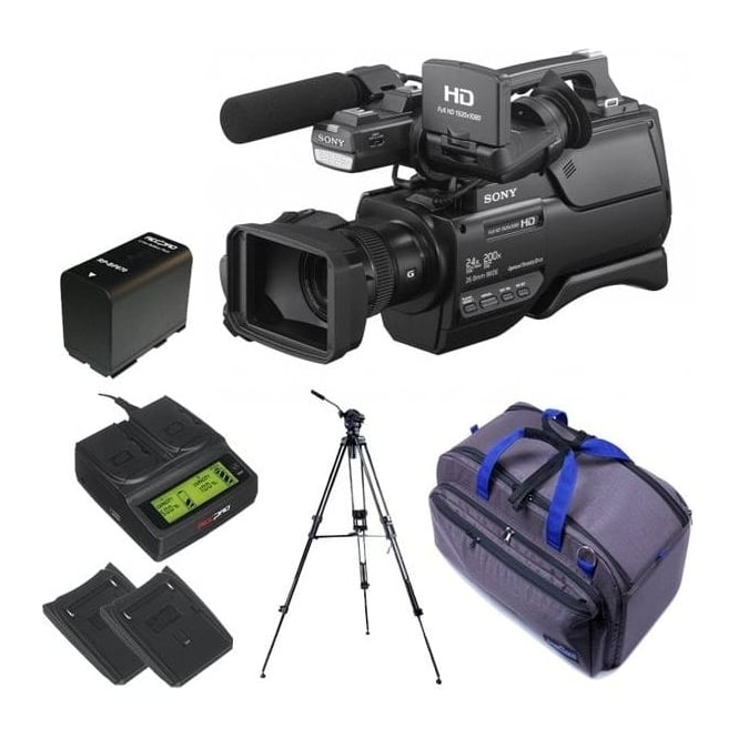 Sony HXR-MC2500E HD / SD NXCAM AVCHD Camcorder package d