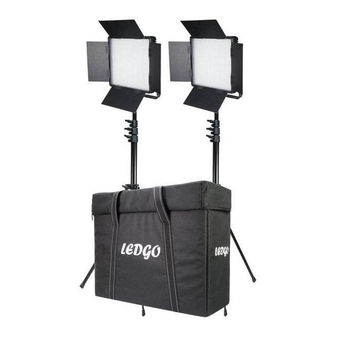 Datavision LG-600LK2 2x LG-600SC Daylight Location Lighting Kit