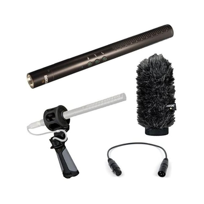 Rode NTG4+ Directional Condenser Microphone Inbuilt Battery pack B