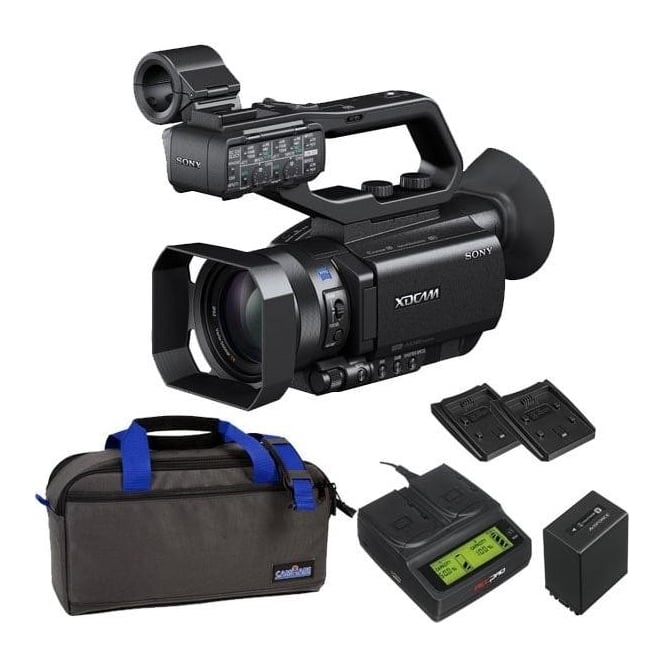 Sony PXW-X70 XD Camcorder 4k featured with battery, bag and a charger package c