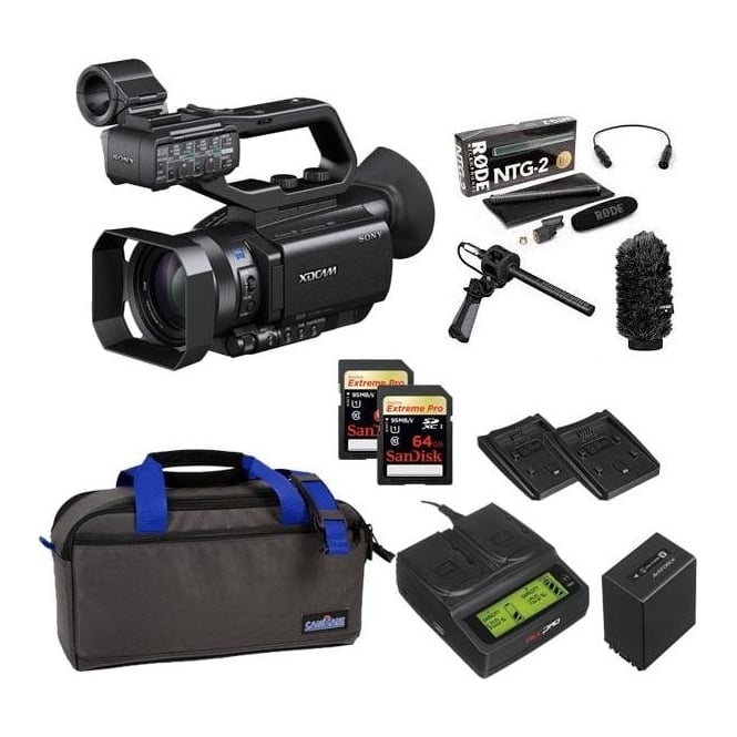 Sony PXW-X70 XD Camcorder 4k featured package e