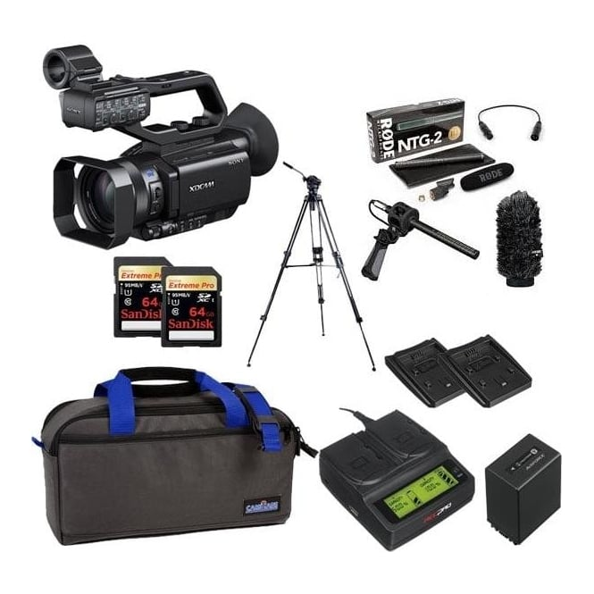Sony PXW-X70 XD Camcorder 4k featured package f
