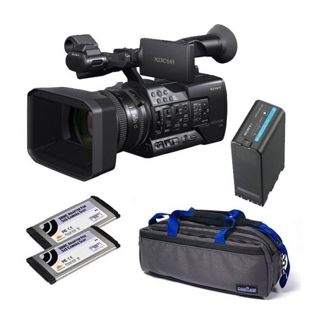 Sony PXW-X160 XDCAM with 25x Zoom lens Camcorder package c